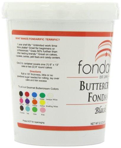 Fondarific Buttercream Fondant Black, 32 ounces by Fondarific (Image #8)