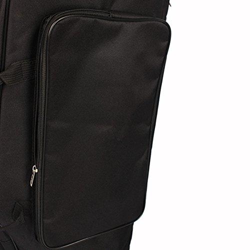 MAOFU Useful Tools Euphonium Gig Bag Euphonium Oxford Cloth Protection Bag w/Strap Black by MAOFU (Image #8)