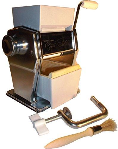 All-Steel Marga Mulino - Atlas Hand Crank - Oat Roller - Cereal Flaker - Soft Grain, Wheat, Rye, Barley by The All-Steel Oat MillTM