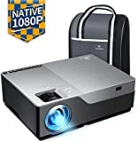 "Electronics : VANKYO Performance V600 Native 1080P LED Projector, 5500 Lux HDMI Projector with 300"" Display Compatible with TV Stick, HDMI, VGA, USB, Laptop, iPhone Android for PowerPoint Presentation"
