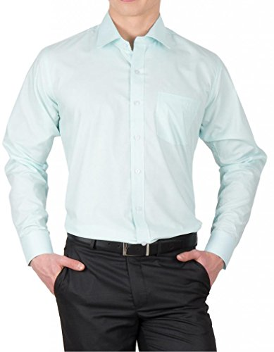 Arihant Men's Solid Formal Shirt(AR70586_Sky Blue_42)