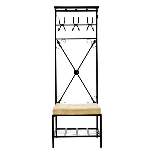 Entryway Storage Rack Bench Seat product image