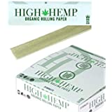 High Hemp Organic Rolling Paper King Size Slim 10 Booklets