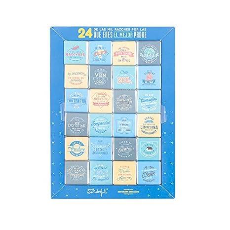 Mr. Wonderful WOA09391ES Chocolatinas-24 de las mil razones por las que eres el mejor padre