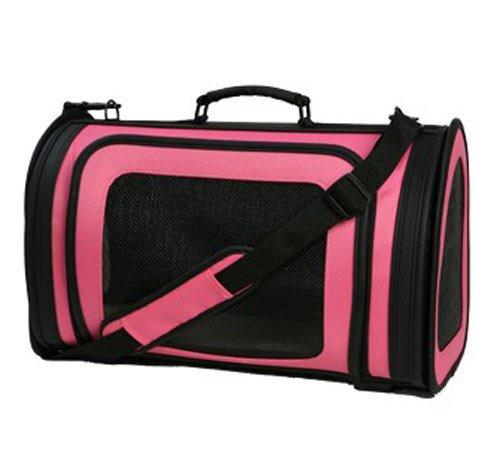 Petote Kelle Pet Carrier Bag, Small, Fuchsia Pink