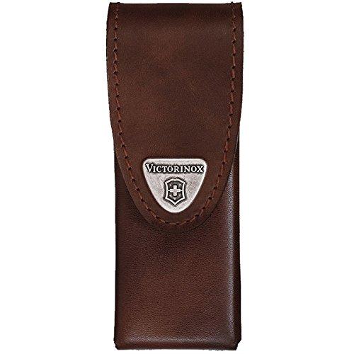 One Size Victorinox Zubeh/ör G/ürteltasche Leder braun Swiss Tool Spirit drehbar Mantel