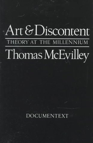 Art and Discontent: Theory at the Millennium (Documentext)