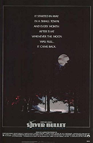 Silver Bullet 1985 S/S Movie Poster 17x24