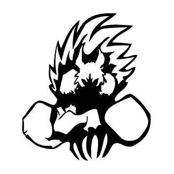 Leon Online Box Werewolf Silence - Cartoon Decal [12cm Black] Vinyl Sticker for Car, Bike, iPad, Laptop, MacBook, Helmet