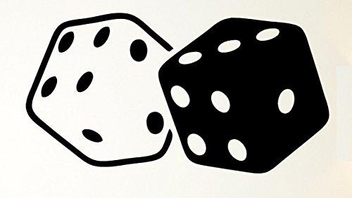 Cubes Dice Gambling Luck Casino Wax Seal Stamp ()