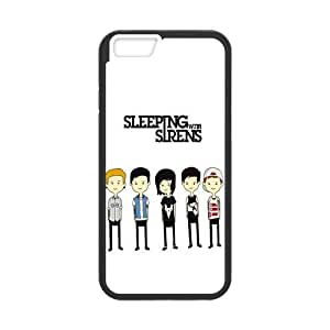 iphone 4 4s Case Special Caroon Sleeping With Sirens Figures iphone 4 4s (Laser Technology)