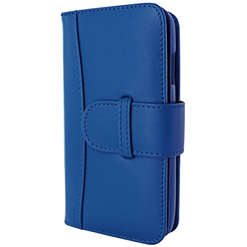 Piel Frama Wallet Case for Apple iPhone 6 Plus - Blue by Piel Frama
