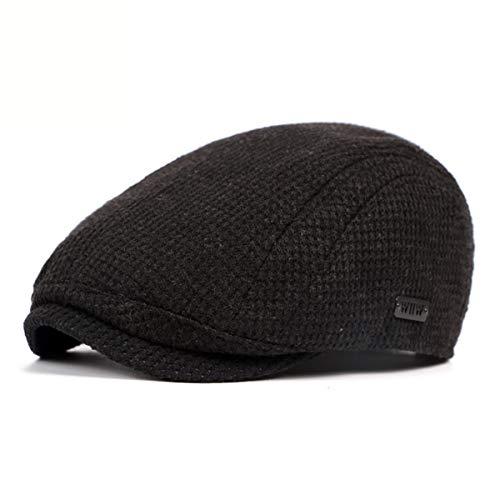 qin de C Sombrero Sombrero cálido GLLH Invierno Sombrero Sombreros Bailey Punto e otoño de hat Delantero Sombrero Gorro C para Grueso Hombres para 6w7gdfBqx