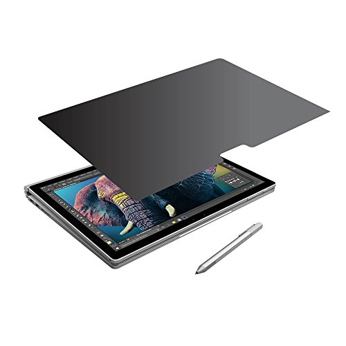 Privacy Screen Protector (360 Degree Privacy Protection) Microsoft Surface Book (13.5 inch) by EZ-Pro Screen Protector (Image #1)