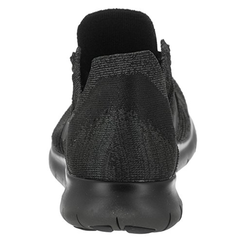 Nike Flyknit Motion Anthracite Black Women's anthracite Shoes Free Running rnpwqCxrW