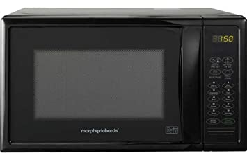 Microwaves Black. Morphy Richards D80D 20L 800W Microwave with Grill