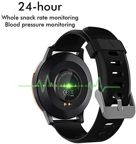 Padgene Smartwatch para Hombre, Reloj Inteligente Impermeable IP67, Pulsera de Actividad con Pulsómetro, Monitor de Sueño, Control de Música, Notificación de Llamada Mensaje para Android e iOS: Amazon.es: Electrónica
