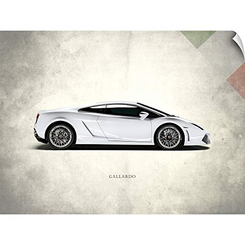 CANVAS ON DEMAND Lamborghini Gallardo Wall Peel Art Print, 40