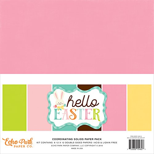 Echo Park Paper Company Hello Easter Solids Kit ()