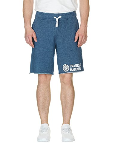 FRANKLIN & MARSHALL Men's Men's Blue Sports Bermuda Shorts in Size S Blue by Franklin & Marshall