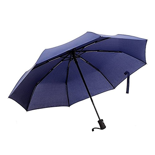 Ohuhu-Auto-Travel-Umbrellas-Windproof-Auto-Open-and-Close-Compact-Blue