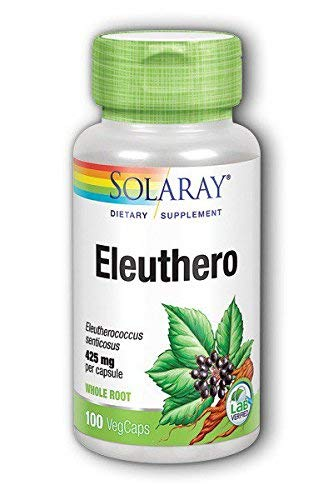 Eleuthero(Siberian Ginseng Root) 425mg - 100 - Capsule by ()