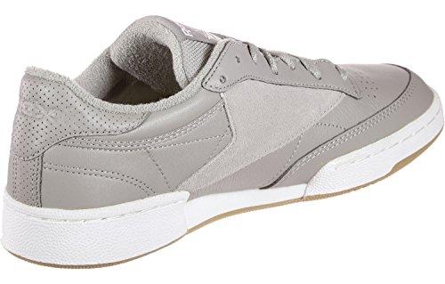 Grey 85 white Club Tennis Blue washed powder Uomo C Grigio 000 gum Scarpe Estl Reebok Da qTAnvw1FF