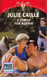 book cover of A Family for Ronnie
