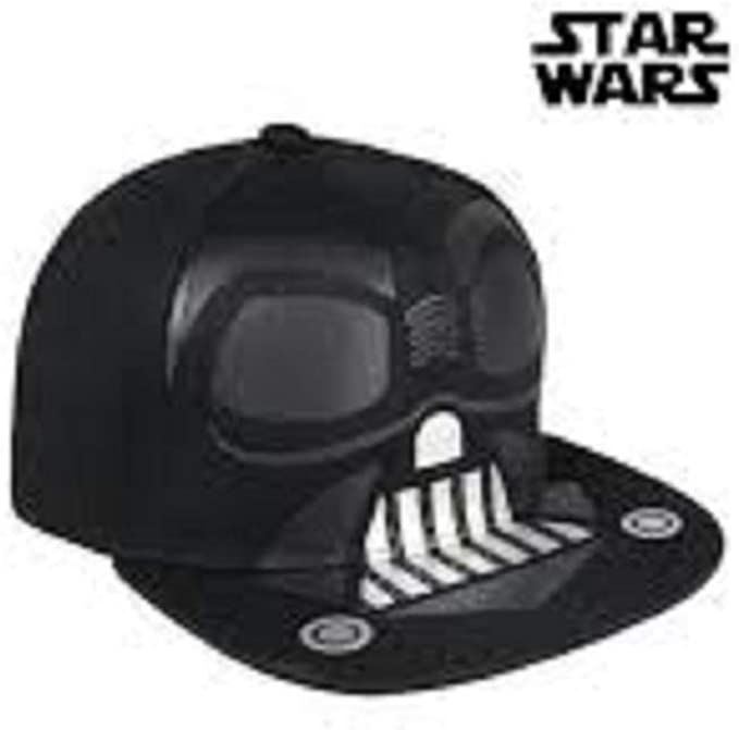 Cerdá Plana Star Wars Darth Vader Gorra de Tenis, Niños, Negro, 52 ...