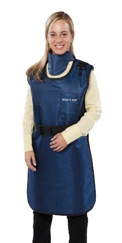 Wolf X-ray Coat Apron Navy Blue (L) (Wolf X-ray Coat Apron)