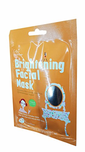 Price comparison product image 3 Mask Sheets of Cettua Clean & Simple Brightening Facial Mask.