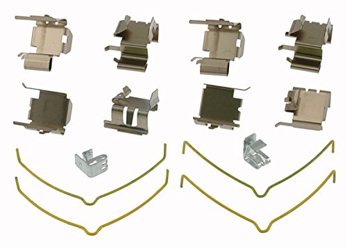 ACDelco 18K1009X Professional Front Disc Brake Caliper Hardware Kit with Clips and Springs