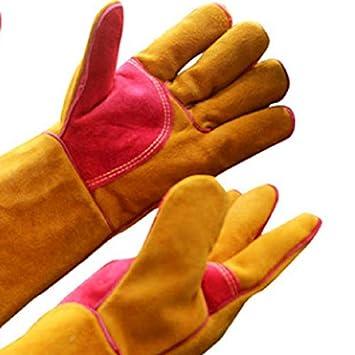 NEW Guantes de soldadura - Resistentes al calor y al desgaste - Para soldadores Tig/