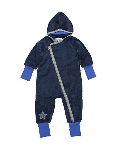 Phister & Philina Baby - Jungen Spieler Genesis Teddy Kuschelfleecespieler, Blau (Ensing Blue Ens), 56