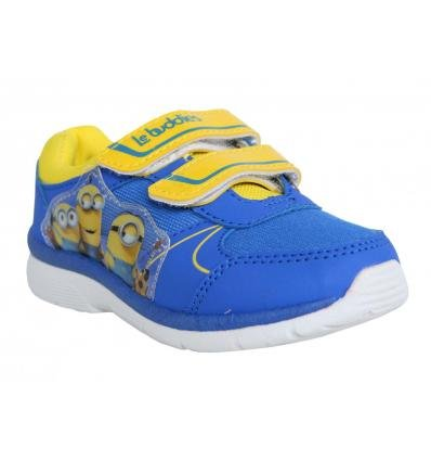 Chaussures de sport pour Garçon et Fille DISNEY DE000762-B2124 CBLUE-YELLOW