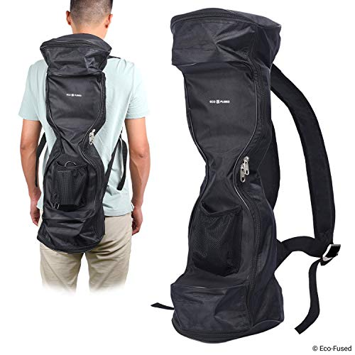 "Waterproof Backpack to Carry/Store Your Drifting Board (Two Wheels Smart Balance Board Scooter Electric Drifting Board) - Mesh Pocket - Carry Handle - Dual Zipper - 9.84"" Wheels and max. 27.55"" Long"