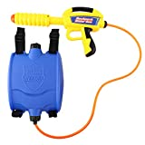 Zooawa Water Gun Backpack Super Soaker Water Blaster Pump Squirt for Kids Girls Long Range Large Capacity with Tank Outdoor Toys