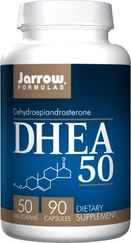 Jarrow Formulas DHEA 50, 50 milligrams, 90 capsules