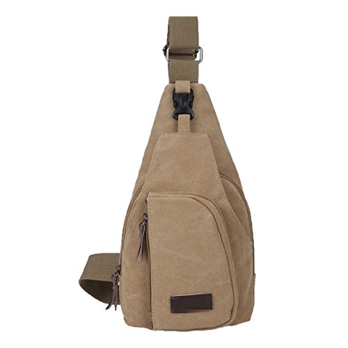 Outgoing Sling Quality Bags Backpack Khaki Wild Crossover Multicolor Light Casual Txfw5fZq
