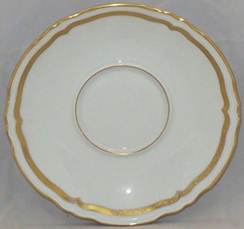 Ceralene Marie Antoinette (Gold) Demitasse Saucer Only (Flat)