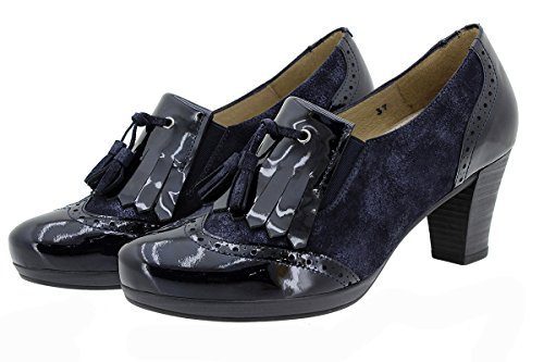 9310 Confortables Amples Cuir Chaussure À Charolmarino Lacets Piesanto En Femme Confort aOXqAw