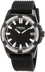 Caravelle by Bulova Men's 45B117 Crystal strap Watch