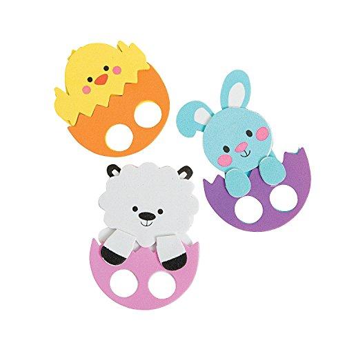 Fun Express Easter Friends Finger Puppet Craft ()