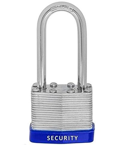48 PC piezas 40 mm dinamita cerraduras con llave candados grillete candado LAMINADO (clave de