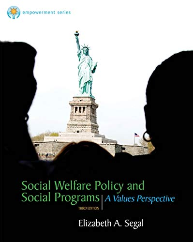 Brooks/Cole Empowerment Series: Social Welfare Policy and Social Programs (SW 323K Social Welfare Programs, Policies, and Issues) (Social Welfare Policy And Social Programs 4th Edition)