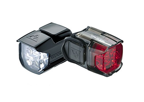 Topeak WhiteLite and RedLite Race Combo Light Set ()
