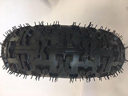 Monster Moto Front Wheel/Tire Assembly, Part #30-10004-00 for Go Kart MM-K80