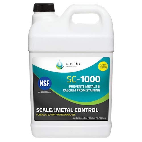 Orenda SC-1000-GAL Scale Control and Metal Chelant, 1-Gallon by Orenda