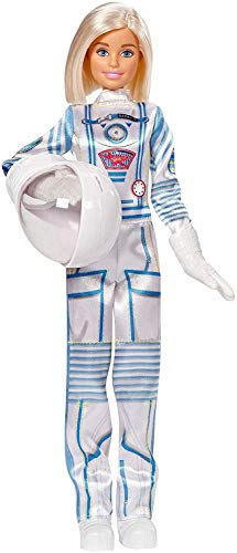 Barbie Careers 60th Anniversary Astronaut Doll (Monster High Dolls Basic Travel)