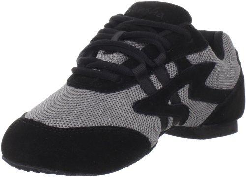 Sansha Women's Salsette 1 Dance Shoe Grey/Black 9VbjFL